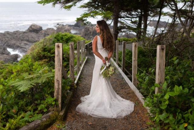 Dunja and Paul wed at Black Rock West Coast Weddings Magazine
