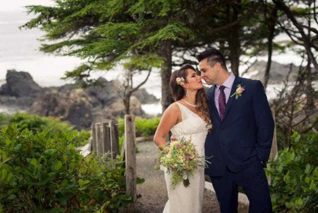 Dunja and Paul Wed at Sophisticated Black Rock West Coast Weddings Magazine