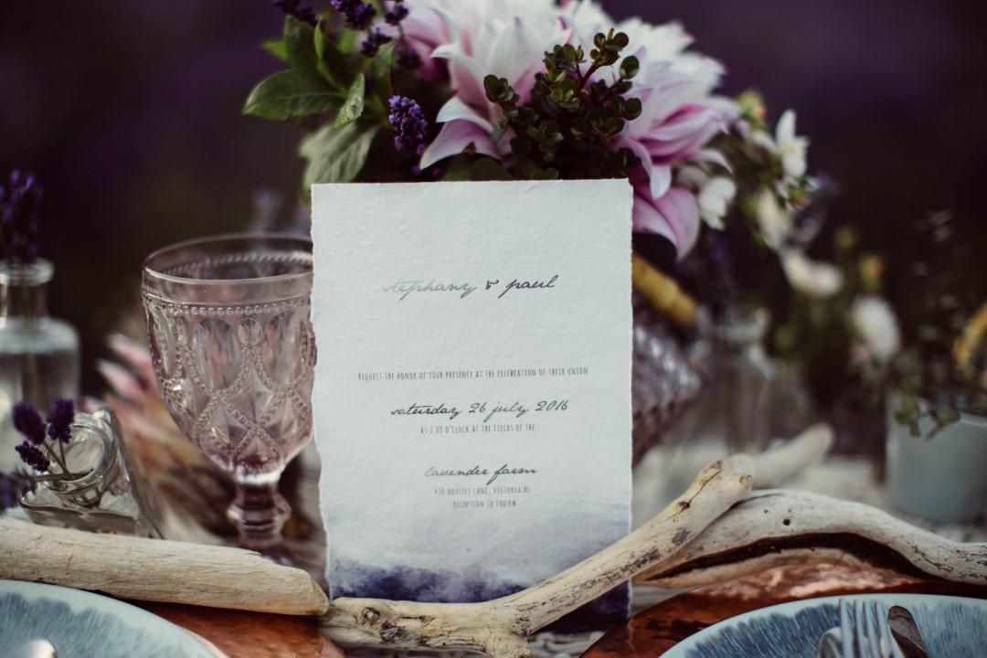 Lavender and Love BC Wedding Magazine Vancouver Island
