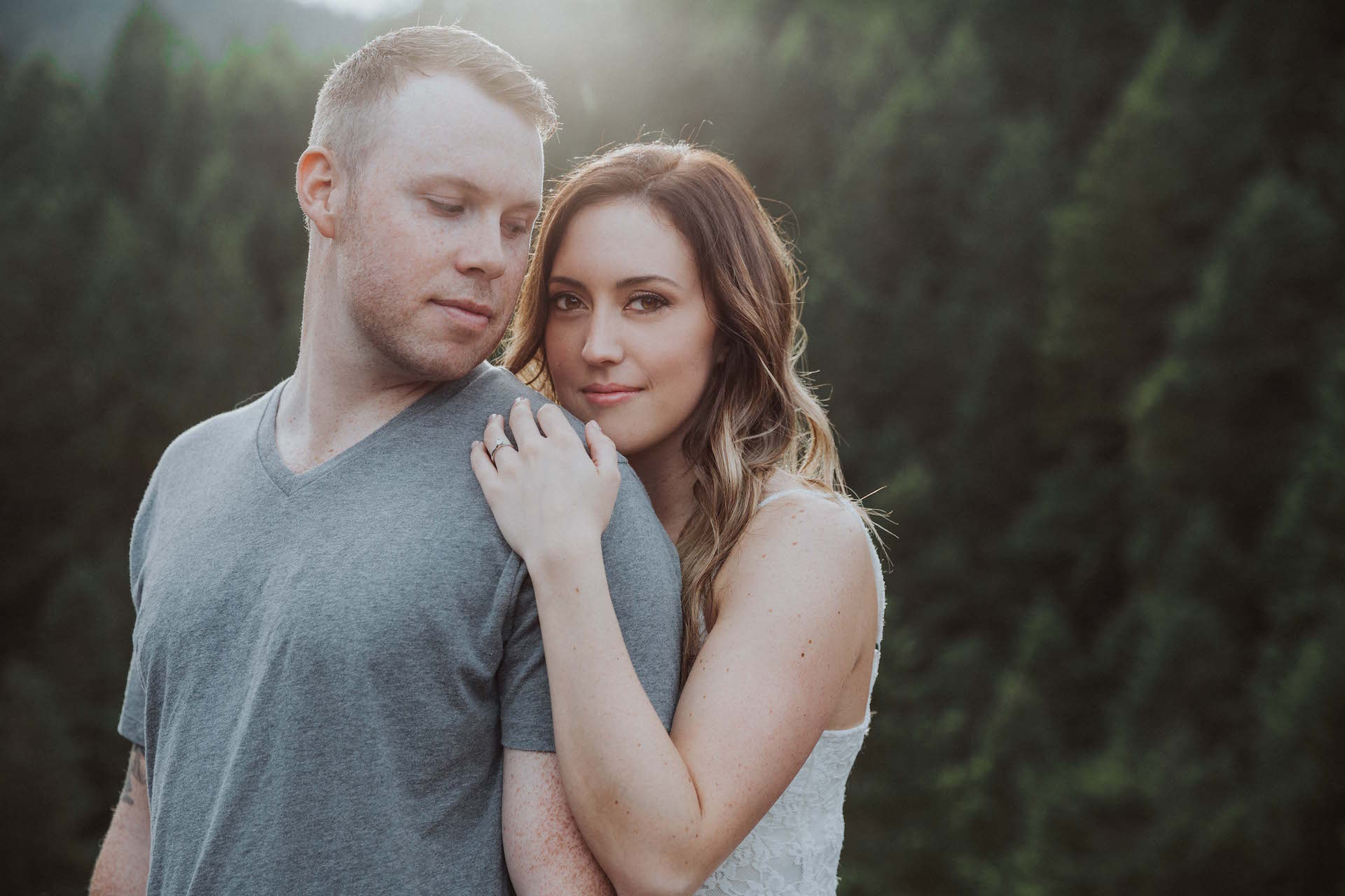 Goldstream Trestle Engagement Vancouver Island BC Wedding Magazine