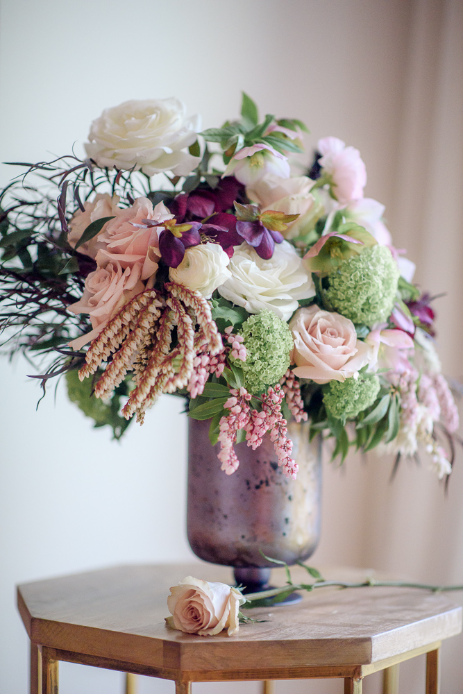 Floral design Colours of the Wind Erin Wallis Photography West Coast Weddings Magazine