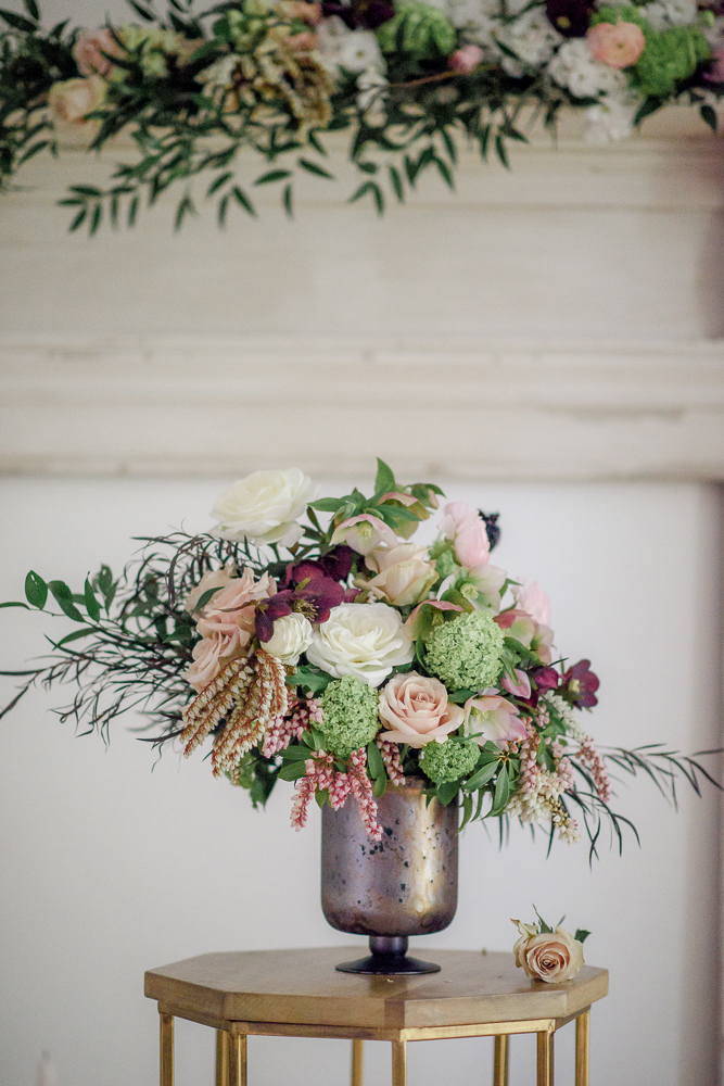 Purple Fl;oral in Silver UrColours of the Wind Erin Wallis Photography West Coast Weddings Magazine n