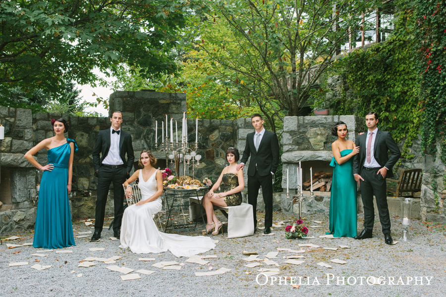 West Coast Weddings Magazine English Garden Wedding Vancouver Island