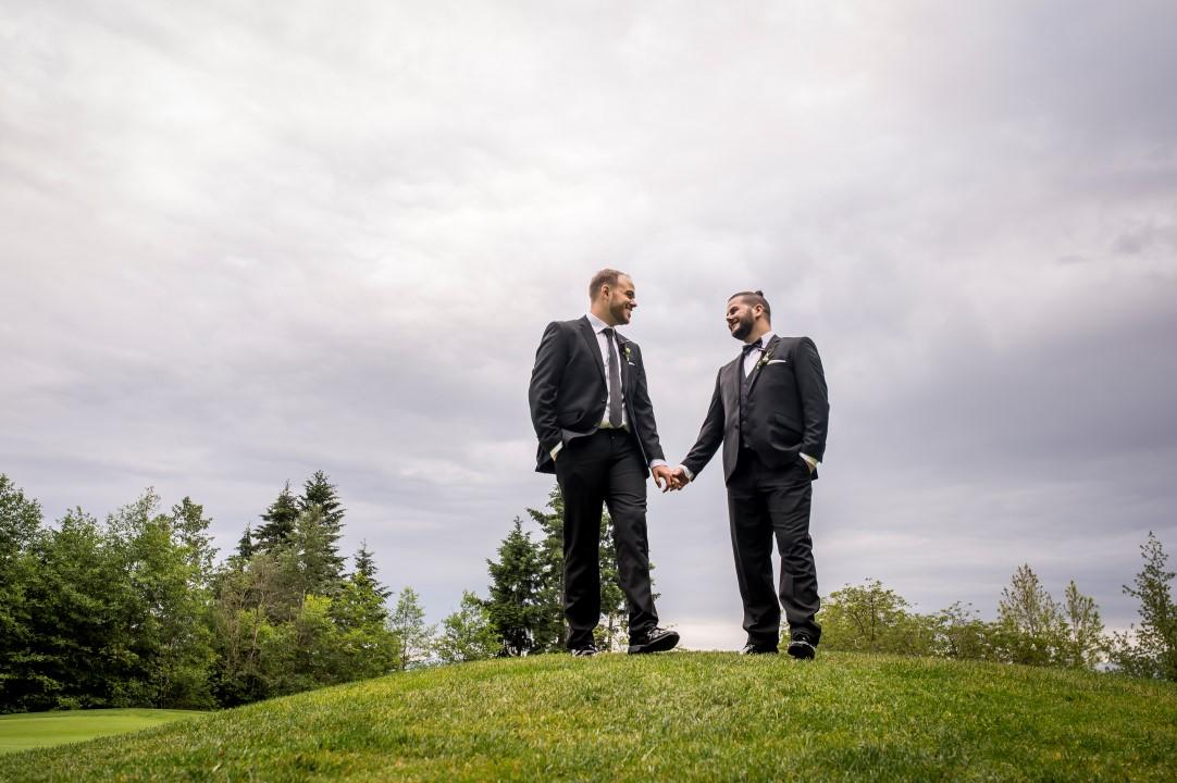 West Coast Weddings Magazine LGBTQ Two Grooms