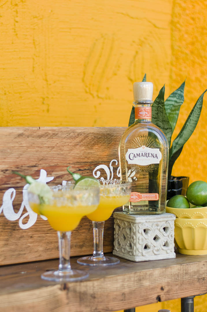 Perfect Drink Bar for Fiesta Wedding on Vancouver Island
