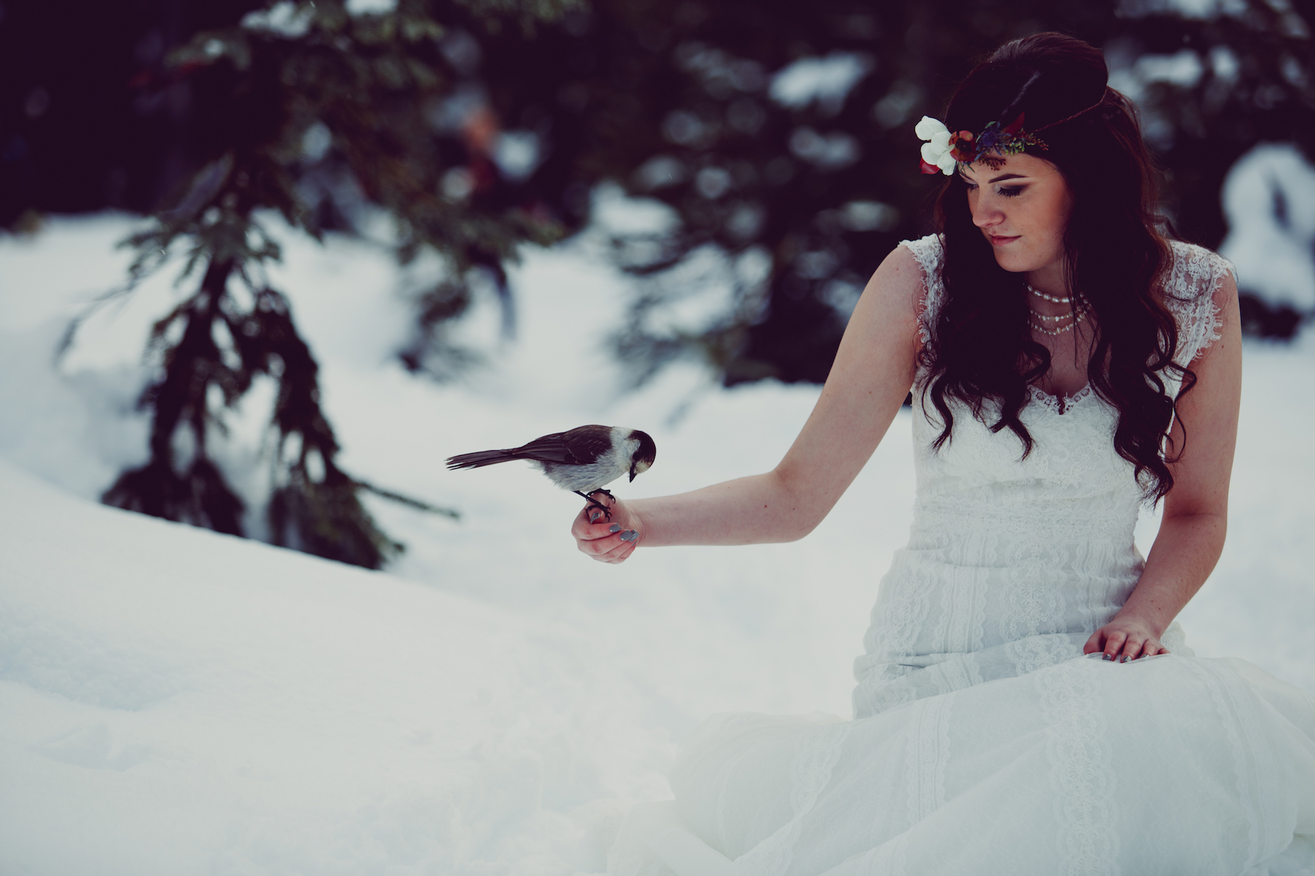 Winter Wedding Wonderland West Coast Weddings Magazine