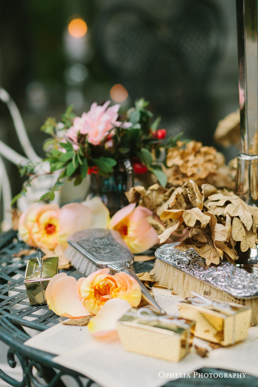 Vintage Decor West Coast Weddings Vancouver Island English Garden