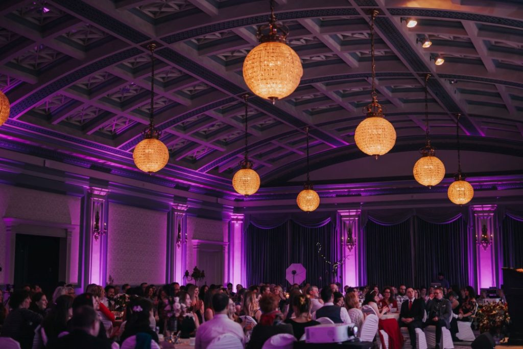 Decorate Victoria lit up the 2016 Vancouver Island Wedding Awards at the Fairmont Empress