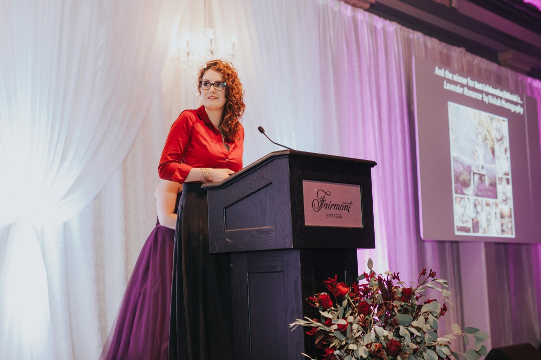 Industry Award Winner Fluertacious by Lynda Marie at the 2016 Vancouver Island Wedding Awards