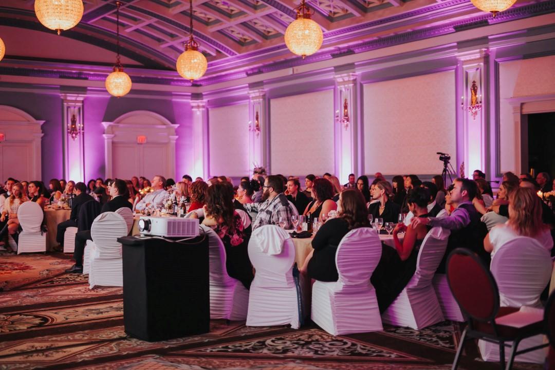 Vancouver Island Wedding Awards 2016 at the Fairmont Empress