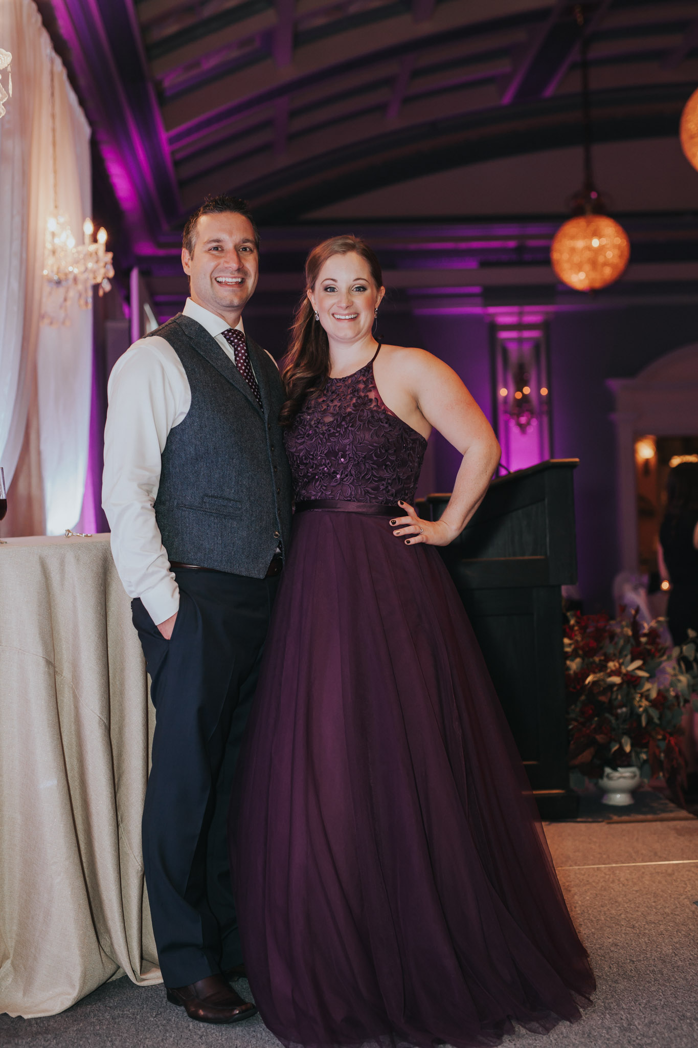 Steve and Courtney of Julian Photography host the 2016 Vancouver Island Wedding Awards at Fairmont Empress