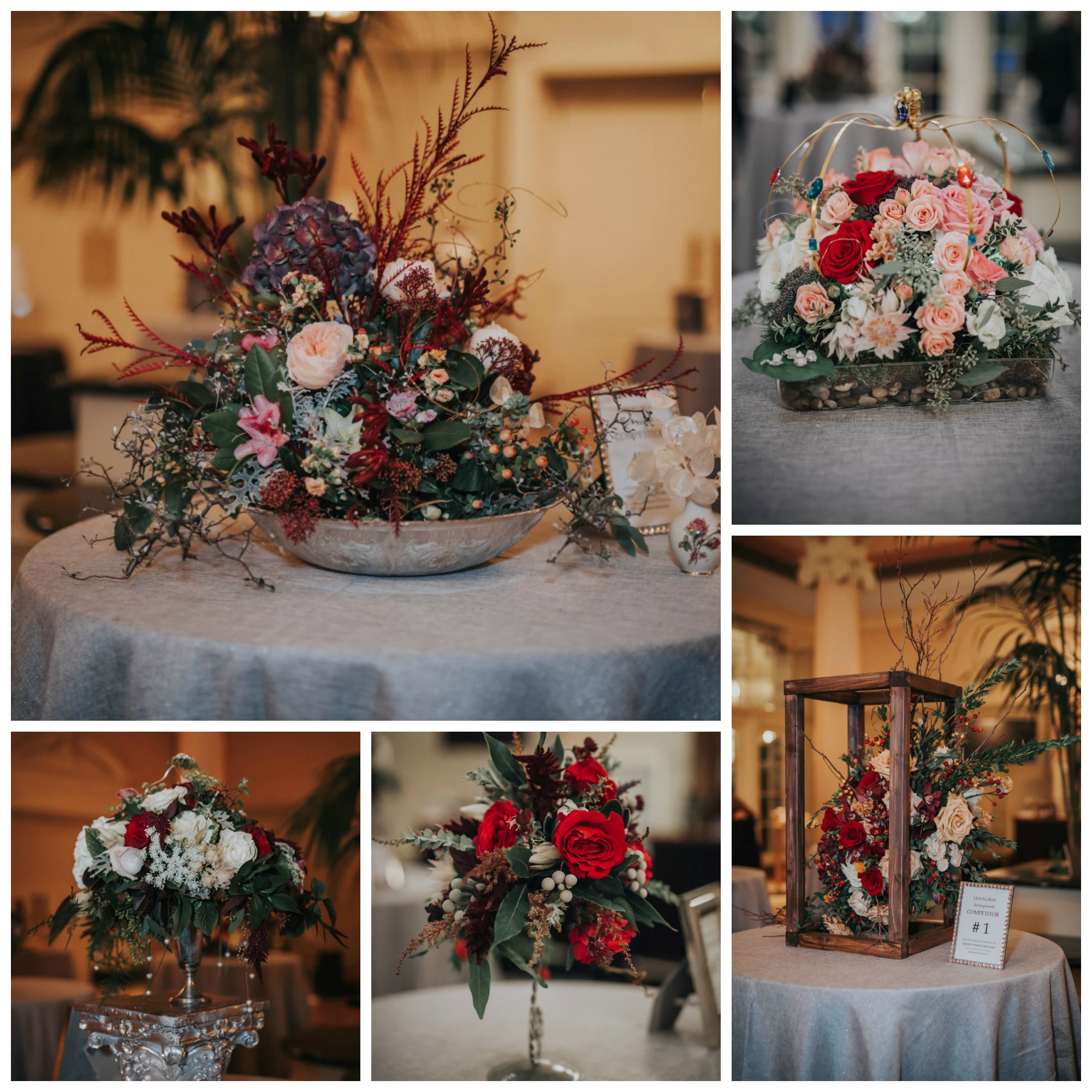 Floral at the Wedding Awards on Vancouver Island 2016