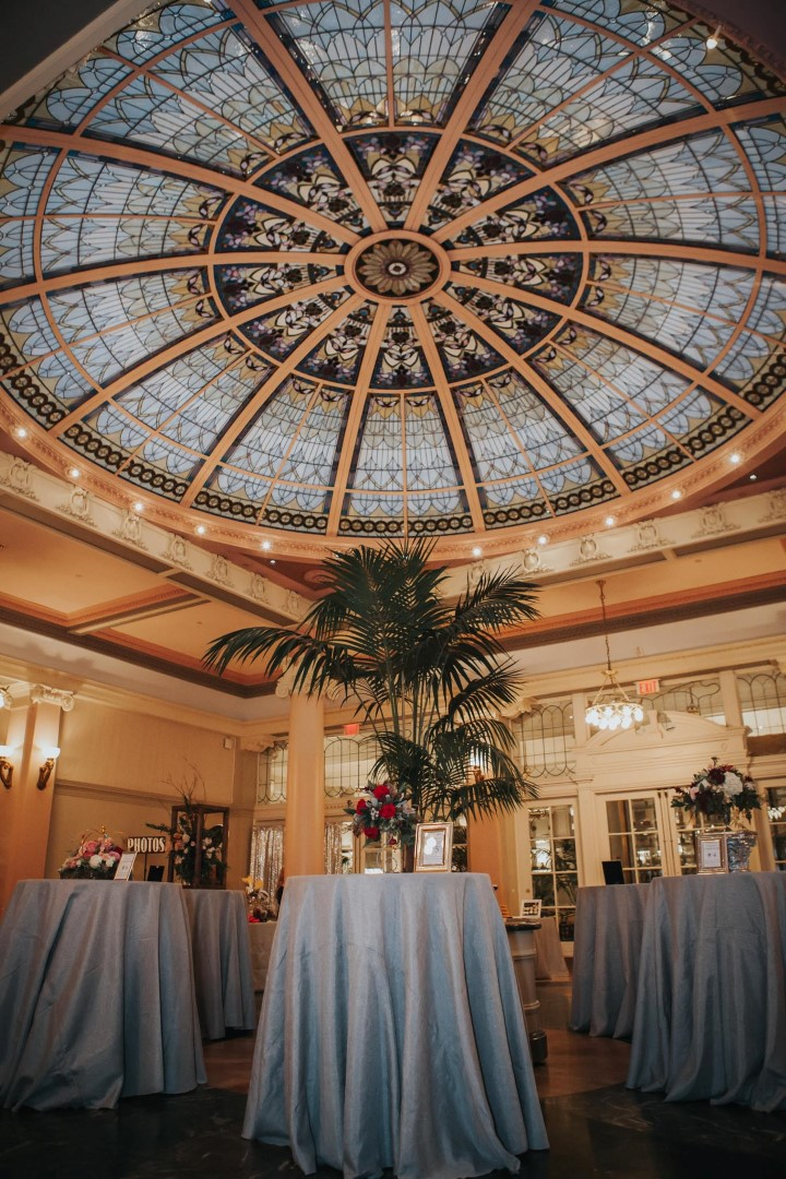 Vancouver Island Wedding Awards Palm Court by Party Mood at Fairmont Empress