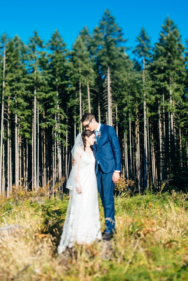 Cover Newlyweds Vancouver Island Wedding Magazine