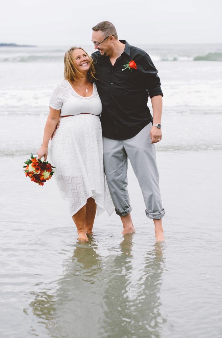Just Wed West Coast Elope Vancouver Island Wedding Magazine