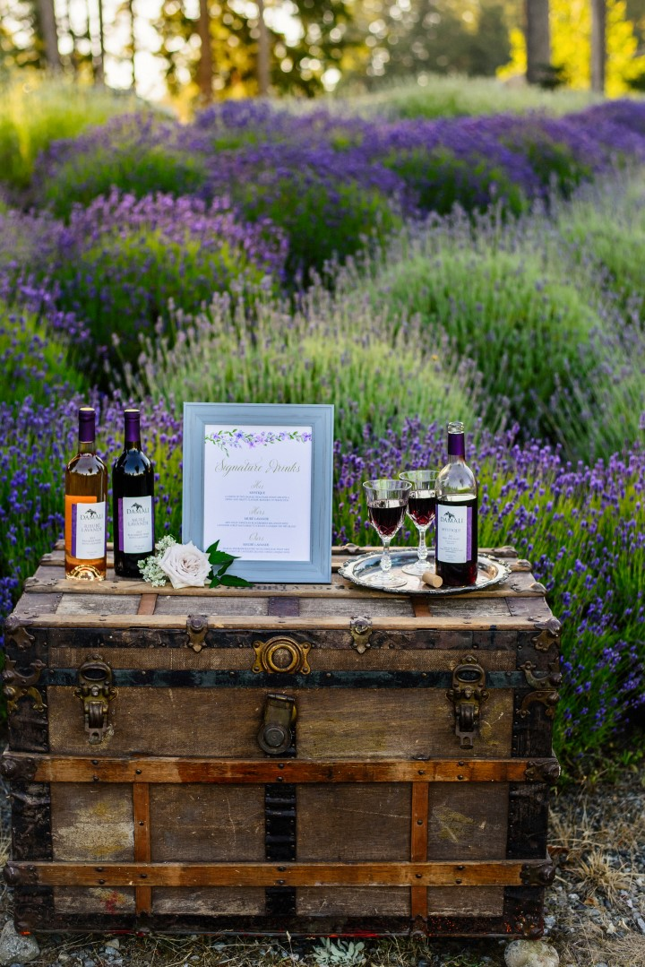 Invites and Signs for Lavender Kristen Borelli Photography