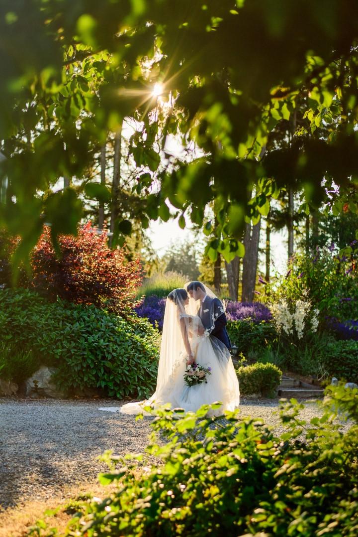 Perfect Kiss in Lavender Kristen Borelli Photography