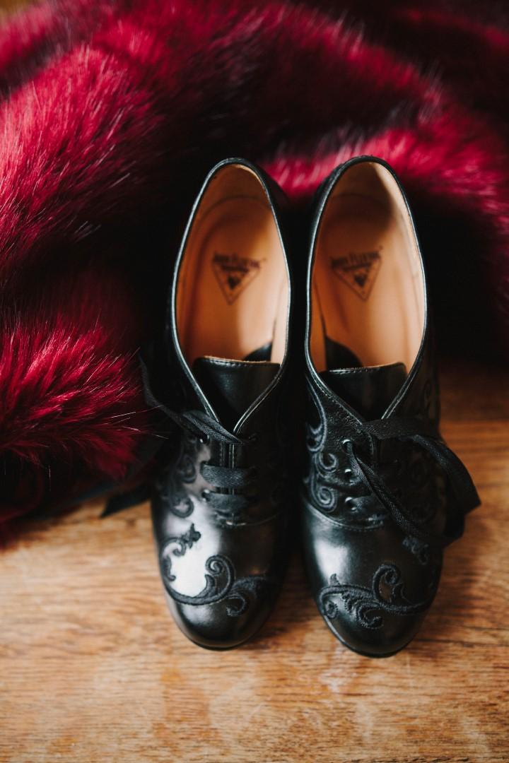 Grooms Shoes Gothic Dark Elegance West Coast Weddings Magazine