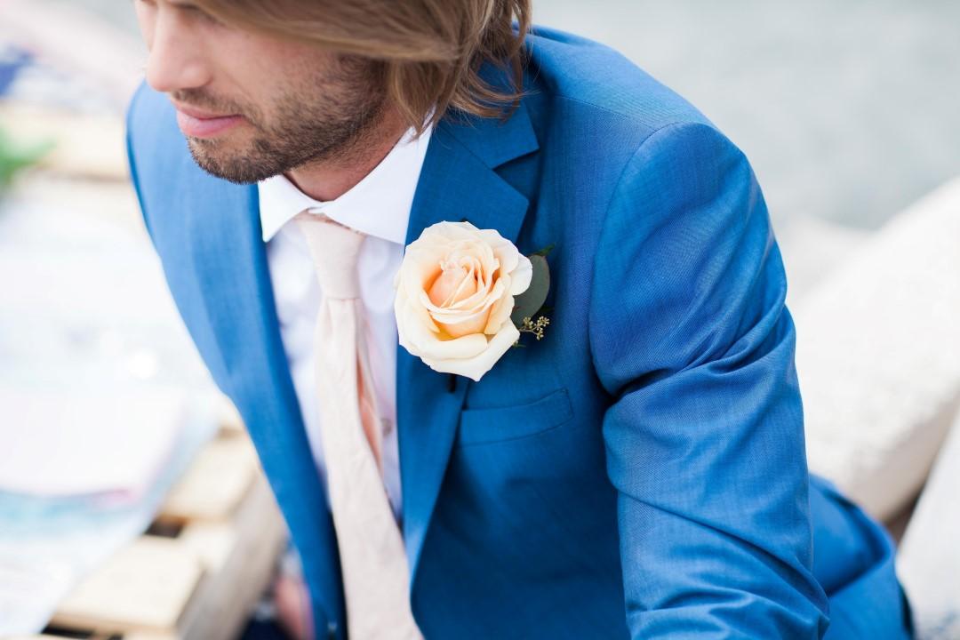 Groom Boutonniere Nautical Love West Coast Weddings