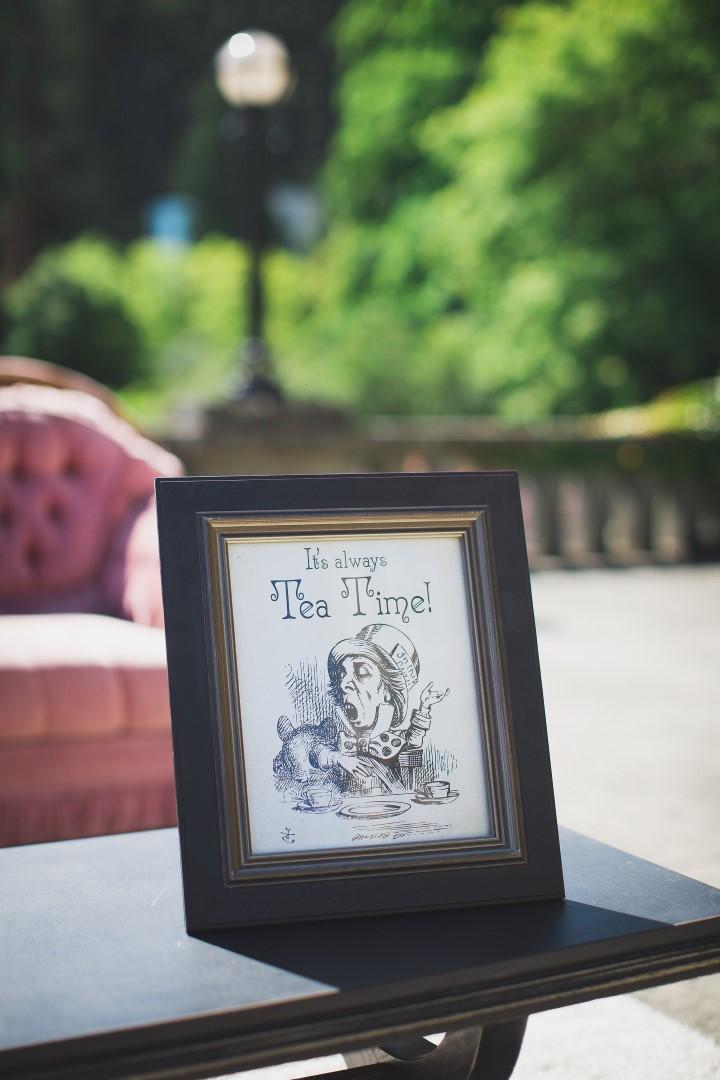Alice in Wonderland Hatley Castle West Coast Weddings Magazine