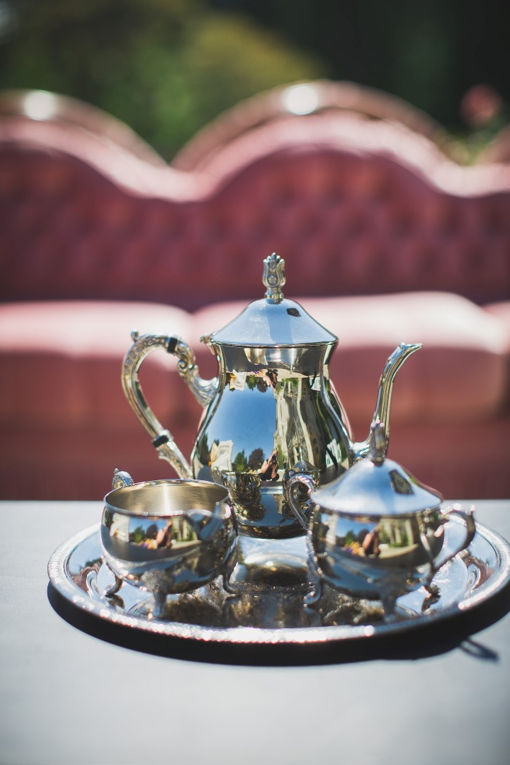 Silver Tea Set Hatley Castle West Coast Weddings Magazine
