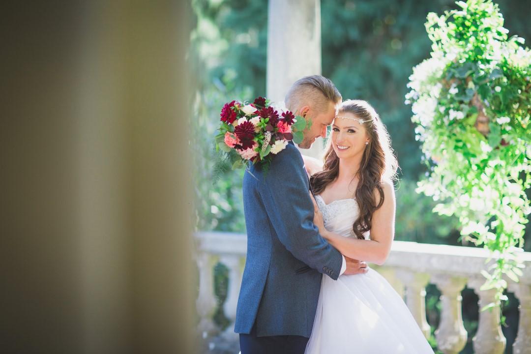 Newlyweds Hatley Castle West Coast Weddings Magazine