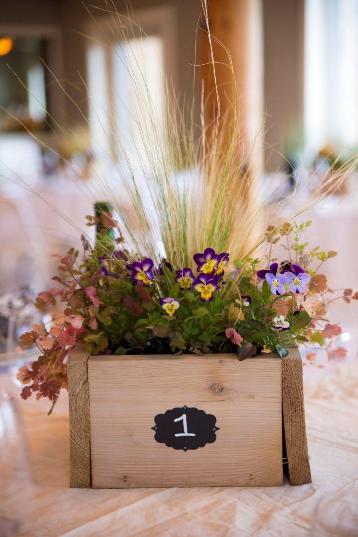 Flowers Ocean View West Coast Weddings Magazine