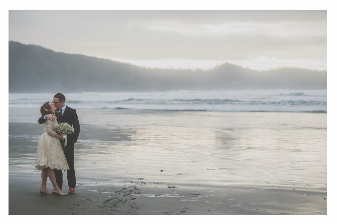 Just Married! West Coast Elope Vancouver Island Wedding Magazine