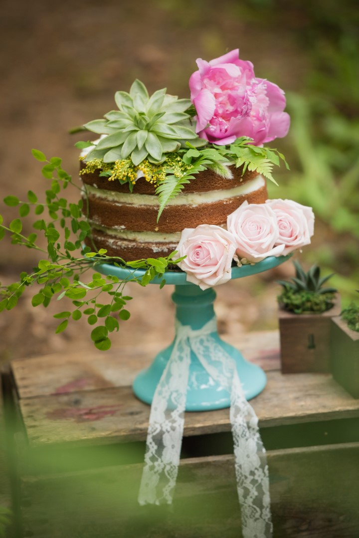 Wedding With Thrifty Cake On Vancouver Island