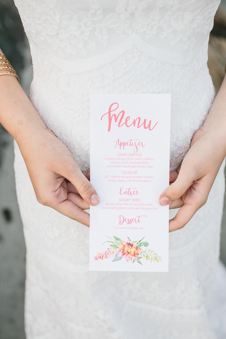 Invitation Mexican Inspired West Coast Weddings Magazine
