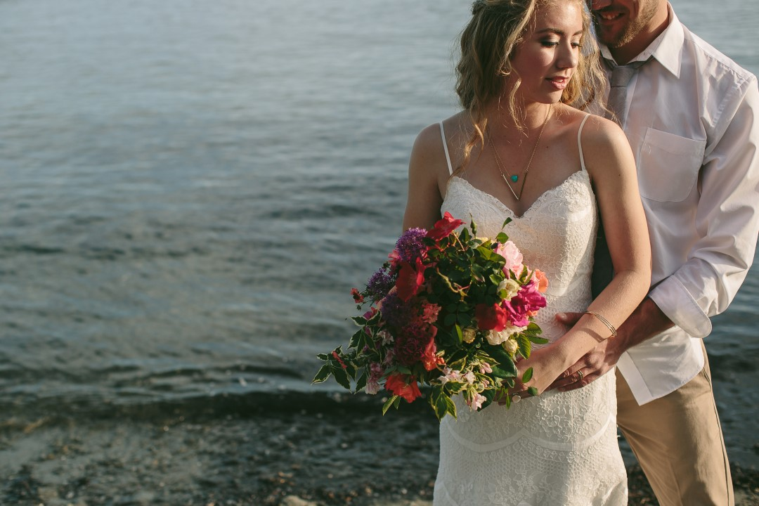 Mexican Inspired Bride and Groom Vancouver Island