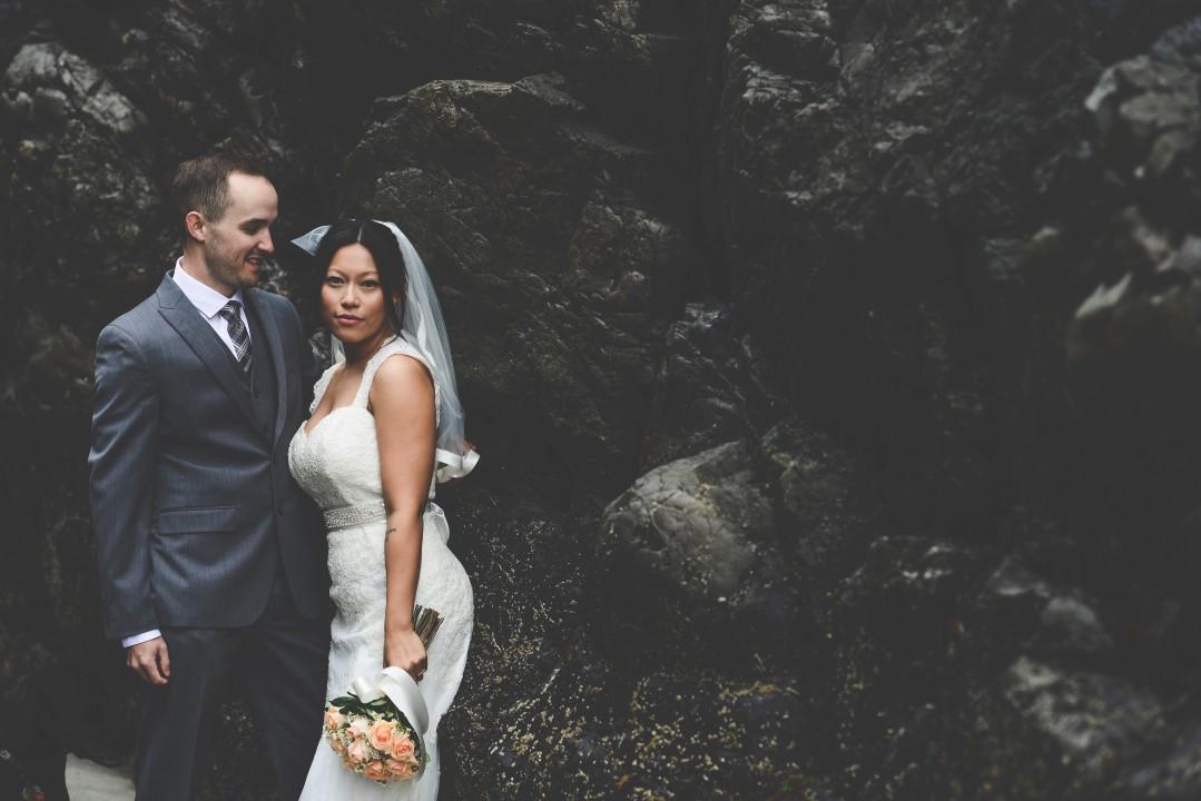 Elope in Forest West Coast Elope Vancouver Island Wedding Magazine