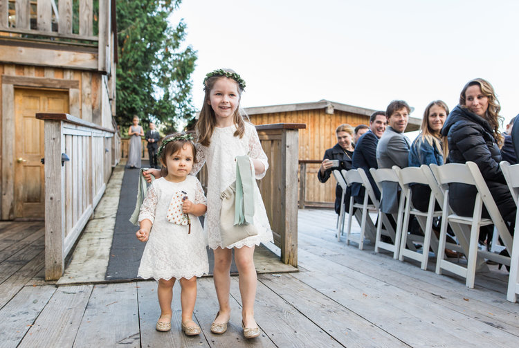 Small Wedding Guests Marnie & Drew Eco Friendly Inspired Wedding by Jennifer Picard Photography