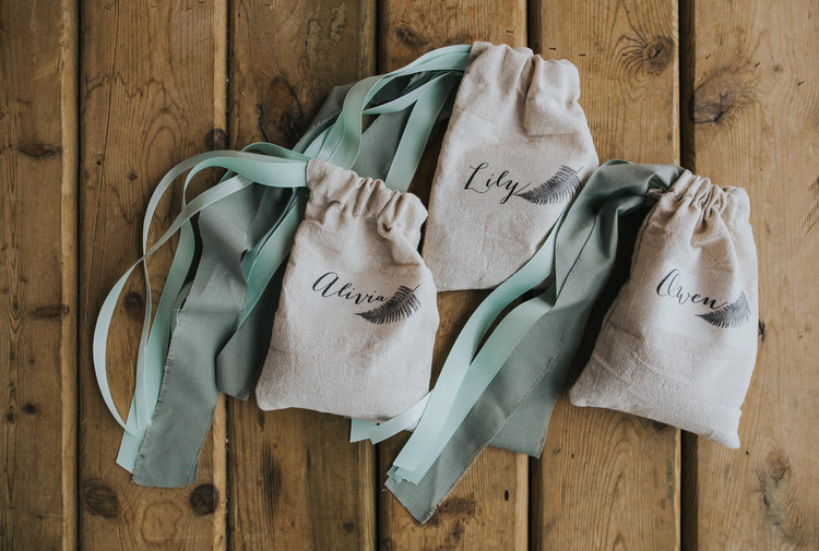 Bridesmaids Gifts Marnie & Drew Eco Friendly Inspired Wedding by Jennifer Picard Photography