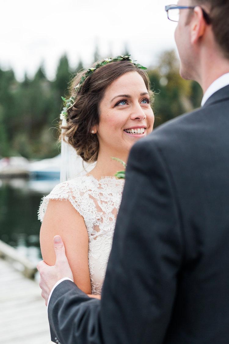 Bride Says I Do Marnie & Drew Eco Friendly Inspired Wedding by Jennifer Picard Photography