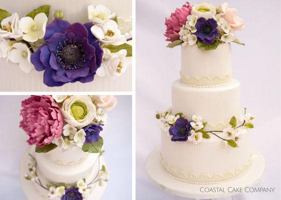 Coast Cake Company Wedding Cake Vancouver Island