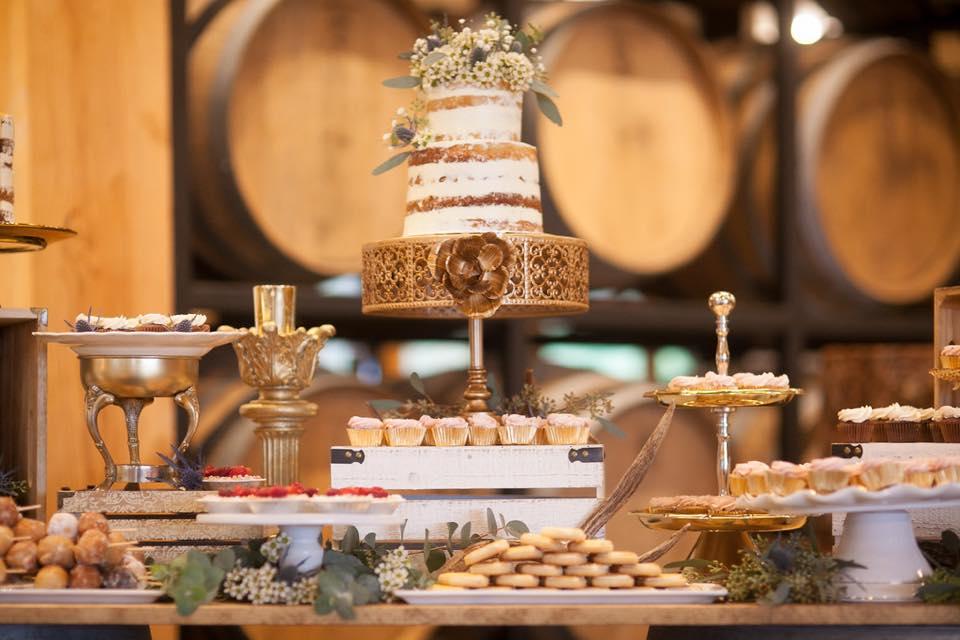 Schur to Please Wedding Cake Dessert Table West Coast Weddings Magazine