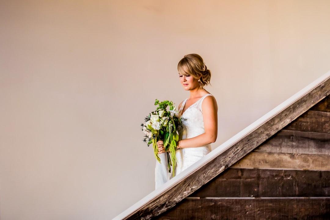 Bride Walking to CeremonySuns Golden Kiss West Coast Weddings Magazine