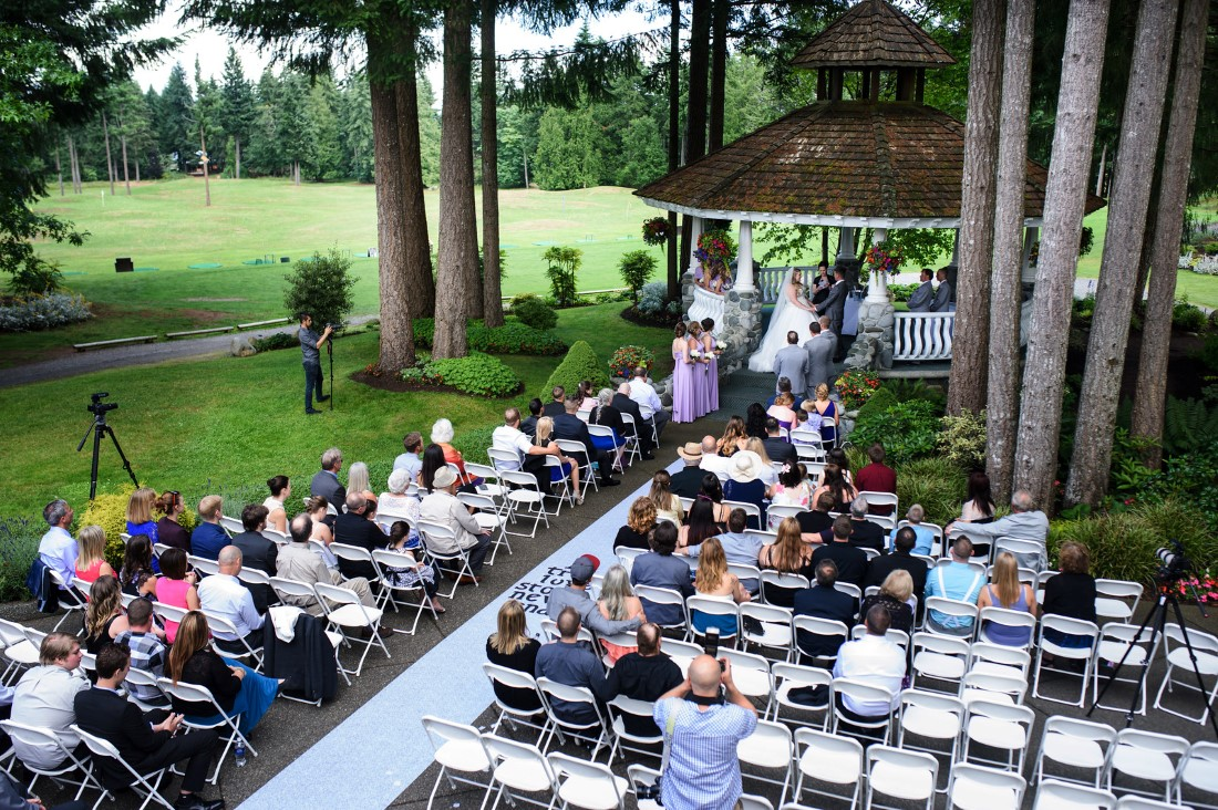 Wedding Ceremony at Crown Isle Golf Course