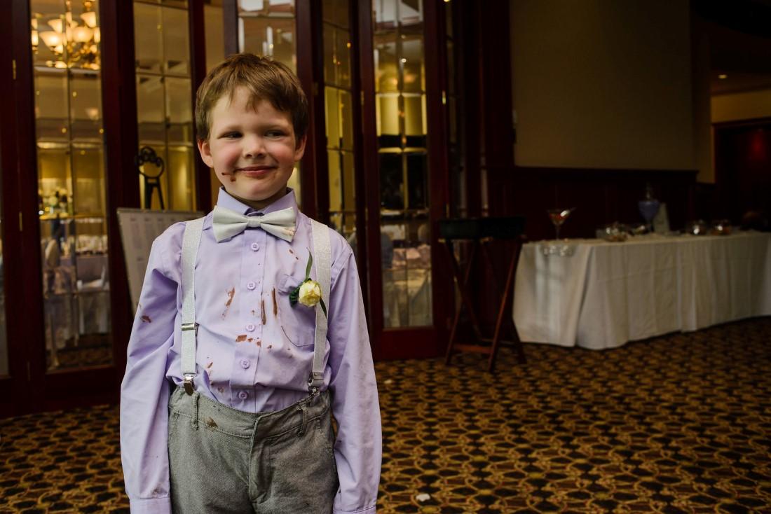 Kids at Weddings Crown Isle Love Story