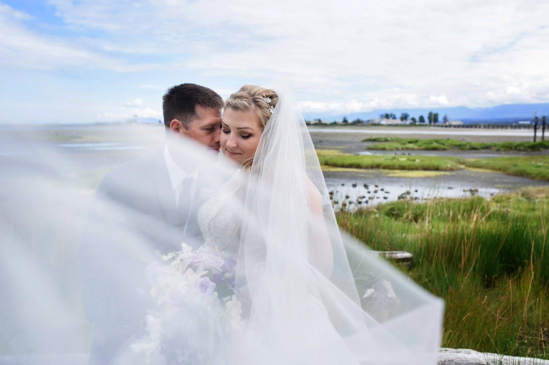 Veil Crown Isle Wedding Story