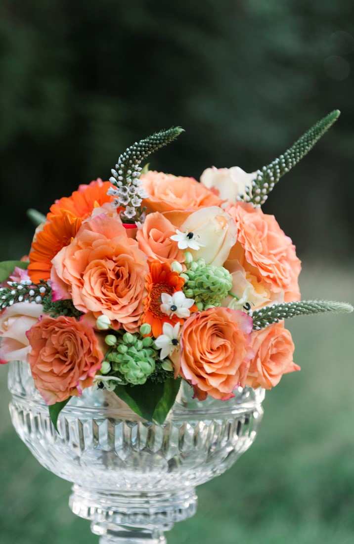 Floral Design A sublime wet coast wedding