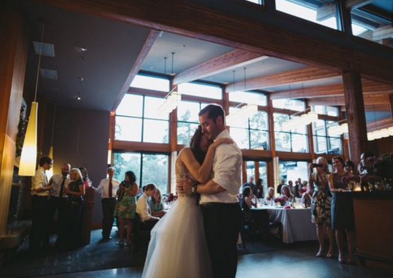 First Dance At Your Wedding on Vancouver Island
