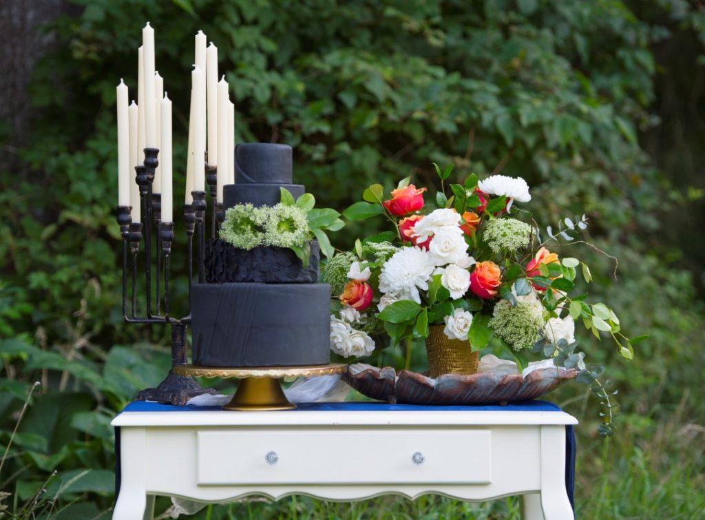Black Wedding Cake Sublime Celebration Passion for Cakes