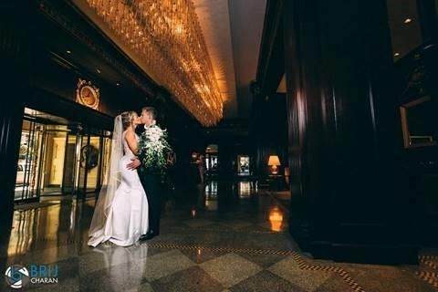 Fairmont Vancouver Newlyweds Wedding Magazine