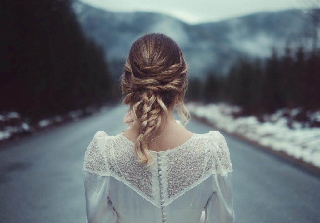 Vintage Brides on Vancouver Island West Coast Weddings Magazine Hair Braid