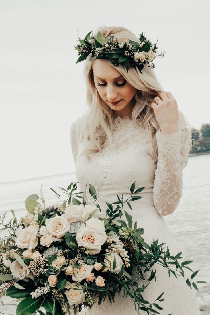 West Coast Weddings Vancouver Island Bride