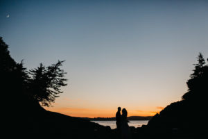 Stunning Tofino Wedding Sunset West Coast Weddings Magazine
