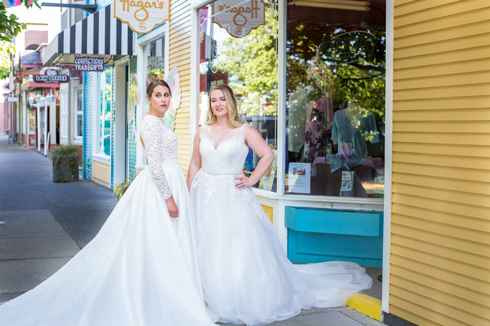 Nanaimo S Old City Quarter Featured In Wedding Style Editorial