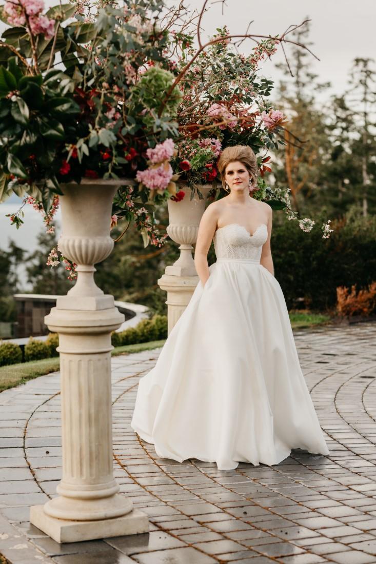 West Coast Weddings Magazine Bridal Luxury on Vancouver Island